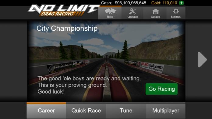 No Limit Drag Racing Screenshot