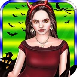 New Halloween Girl Makeover