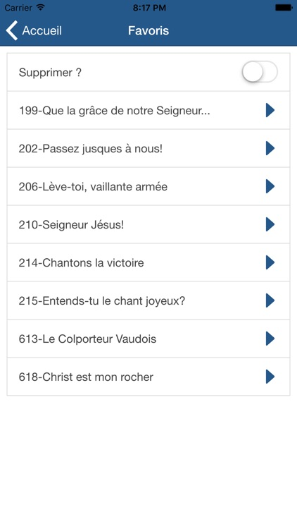 Hymnes et Louanges : SDA hymnal french screenshot-4