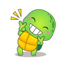 Funny Turtle Sticker