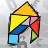 Kids Doodle & Discover: Alphabet, Endless Tangrams