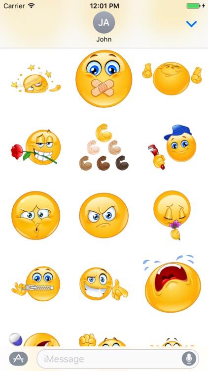 Emoji Sticker Pack Kit