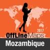 Mozambique mapa offline y guía de viaje