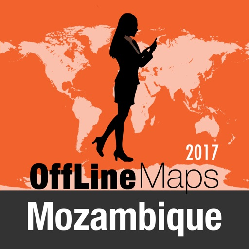 Mozambique Offline Map and Travel Trip Guide