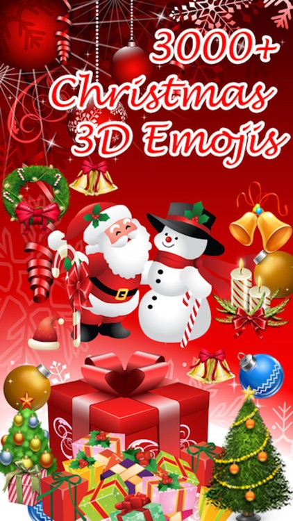 Emojis Christmas - Emoji and Share 3D Holiday