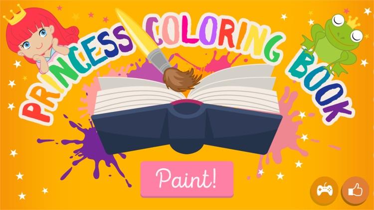 Kids Princess Coloring Books