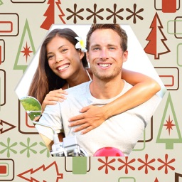 Holly Jolly Christmas Hd Frames - Frame Booth