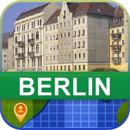 Offline Berlin, Germany Map - World Offline Maps