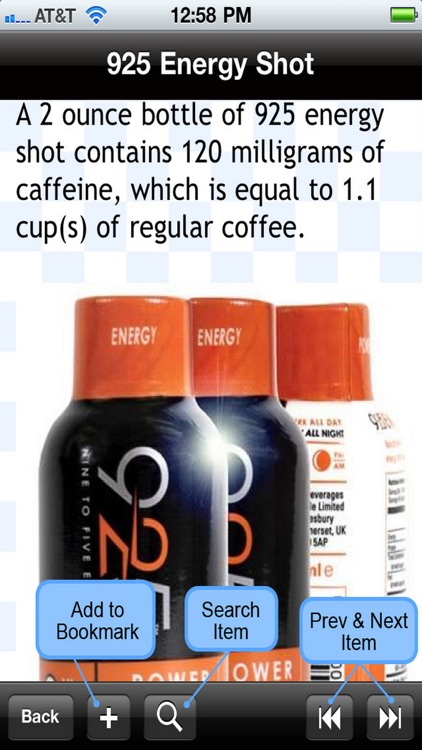 Caffeine in Drinks screenshot-4