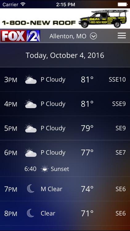 Fox 2 St Louis Weather screenshot-4