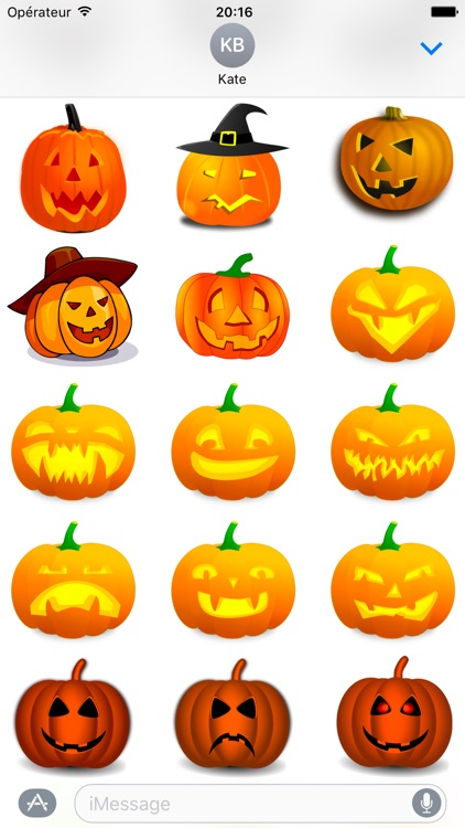Halloween • 140 stickers for iMessage screenshot-4