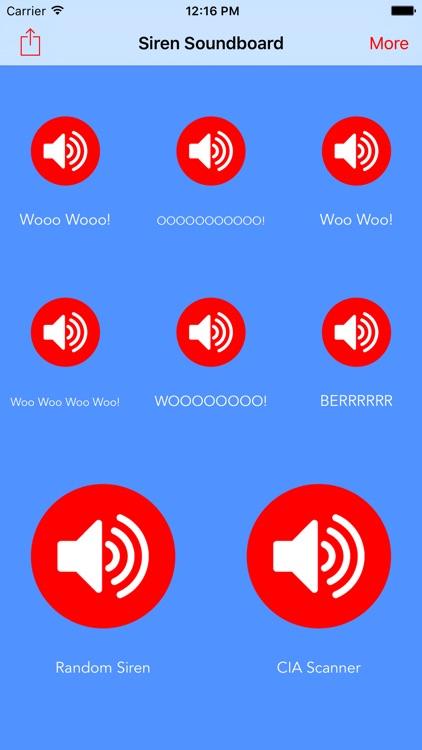 Siren Soundboard - Real Police Sirens Woop-Woop