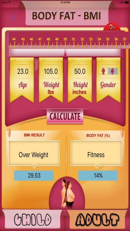 Body Fat Calculator screenshot-3