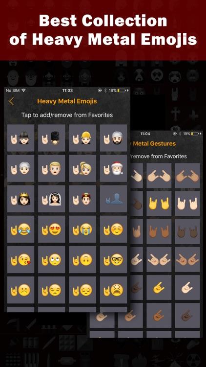 Heavy Metal Emoji Keyboard - Special Emojis App