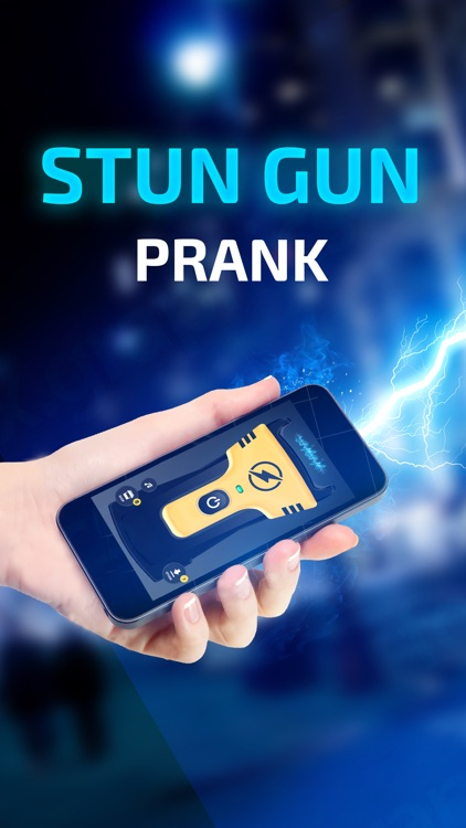 Prank Stun Gun App - Real Sound and Vibration!