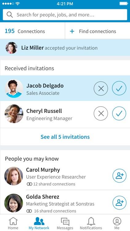 LinkedIn app image