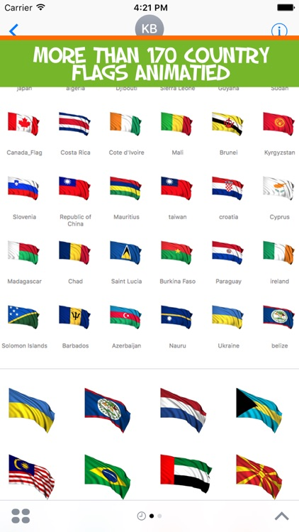 Flags Stickers of the World Countries all 3d Emoji by Nayer Abu Soud