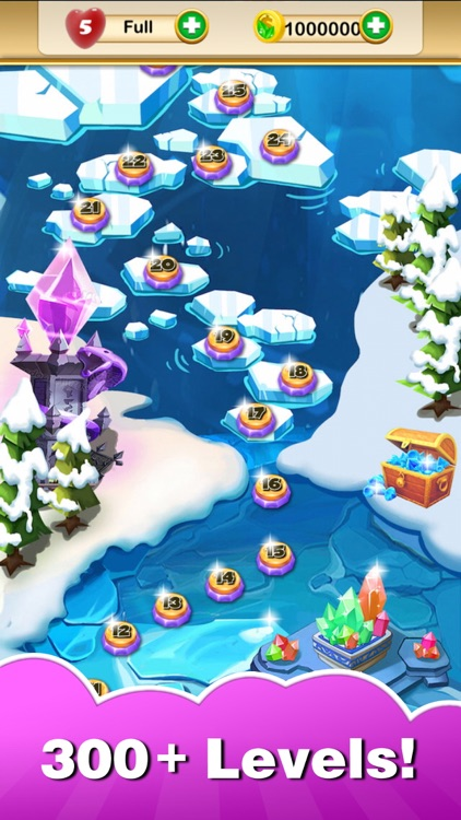 Jewel Heroes King - dash up charm geometry gems screenshot-2