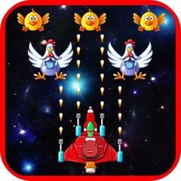 Supper Ship Attack Chicken Space : War Star 2