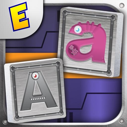 Alphabet Robots Mahjong 2