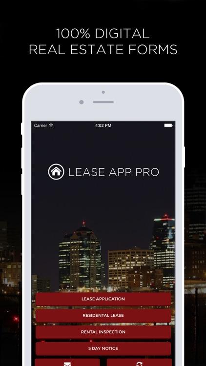 Lease App Pro - Create Digital Real Estate Forms