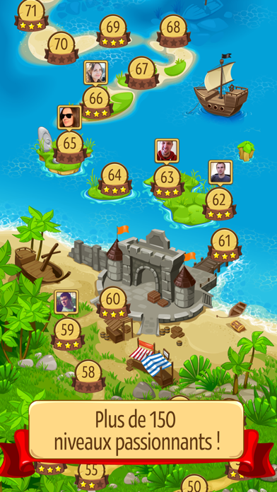 Screenshot #2 pour Knight Girl - Match 3 Puzzle