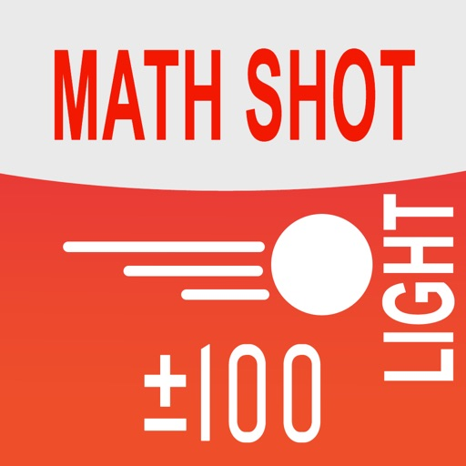Math Shot Light Add and Subtract withing 100