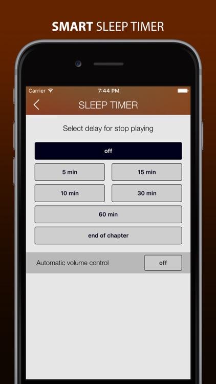 MP3 Audiobook Player Pro - listen audiobooks!