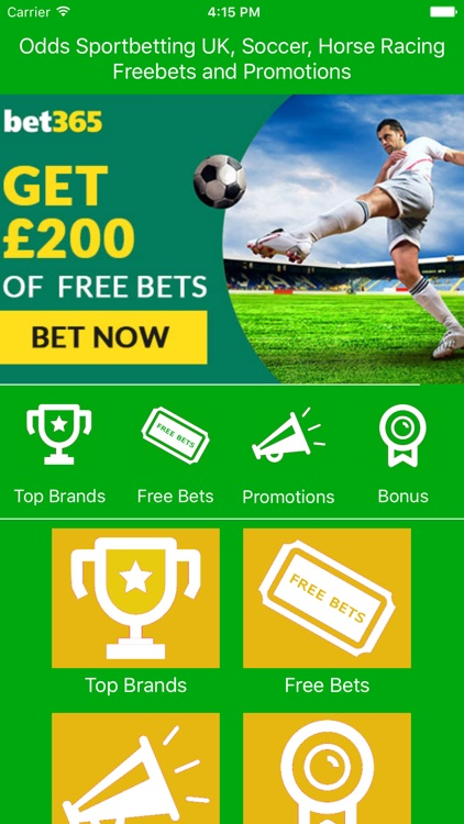 Odds Sport Betting UK, Soccer, Horse Racing Free by Tom Mesnik