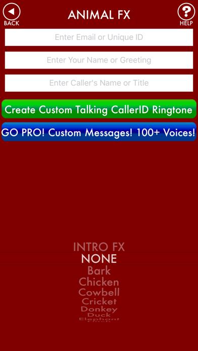 ANIMAL SOUND FX & RINGTONES screenshot two