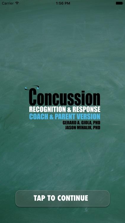 Concussion Recognition & Response: Coach & Pare...