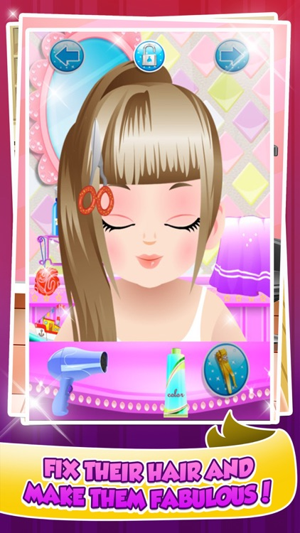 Wedding Salon Spa Makeover Make-Up Games