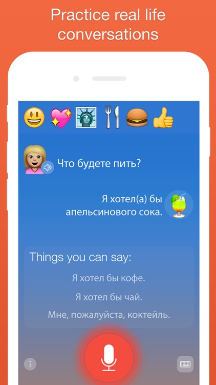 Mondly: Learn Russian FREE - Conversation Course