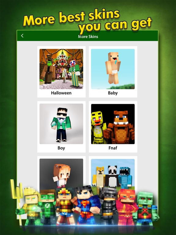 SuperHero Skins Creator - Minecraft Pocket Edition | App