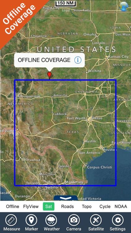 Lakes Texas HD fishing charts screenshot-4