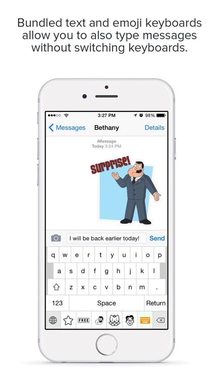 emojiTap Keyboard screenshot-3