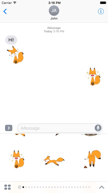 Naughty Fox Sticker screenshot-3