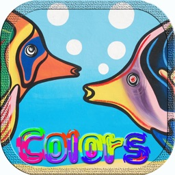 Fish Sea Animal Coloring Quiz Puzzle Matching Game