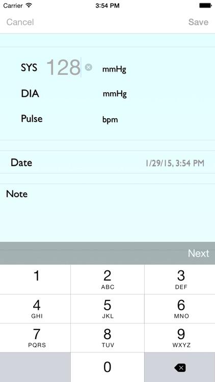 BP Recorder screenshot-3