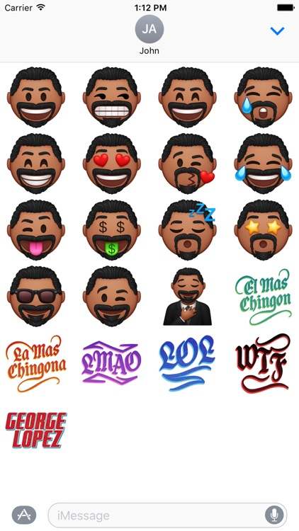 GLOJi's - George Lopez Stickers