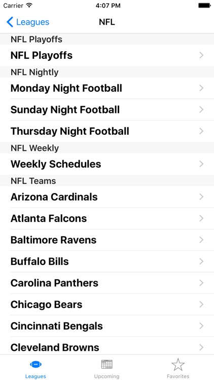 Sports Calendar App screenshot-1