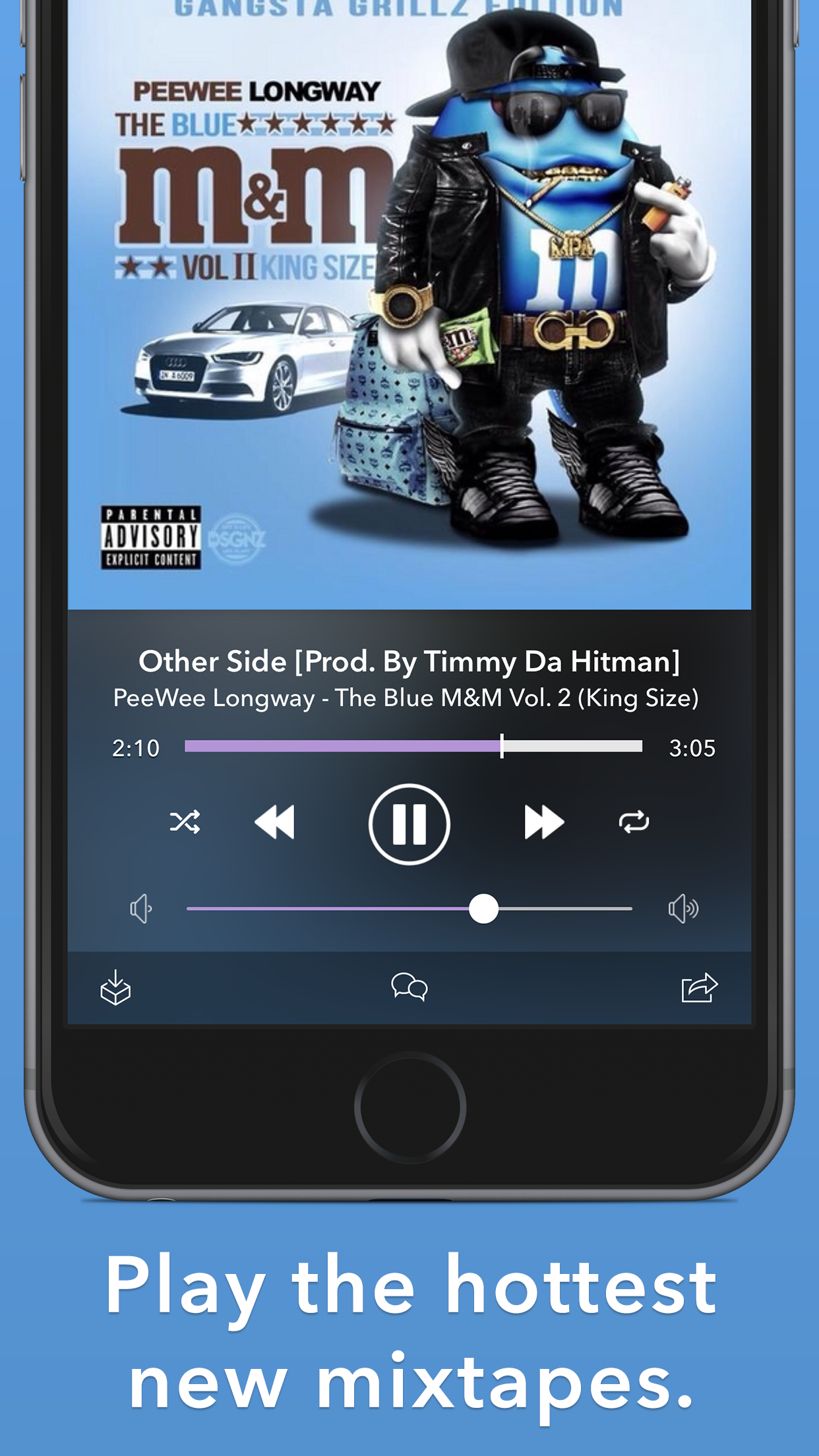 Spinrilla - Mixtapes & Music Screenshot