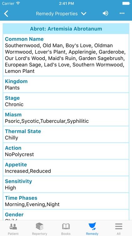 Hompath FireFly Prime-Homeopathy & Materia Medica screenshot-4