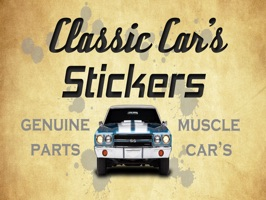 Classic Car S Stickers By Lucas Winkler Angeli