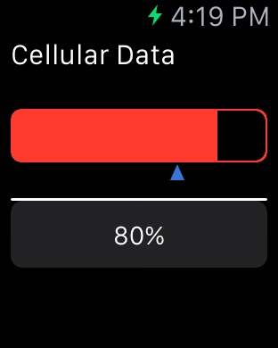 Data Widget Screenshot