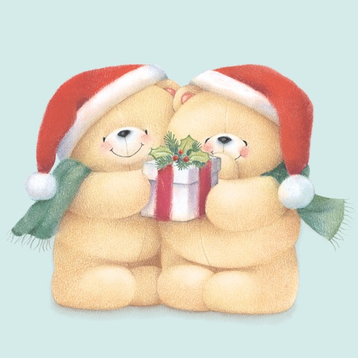 Forever Friends Christmas Stickers