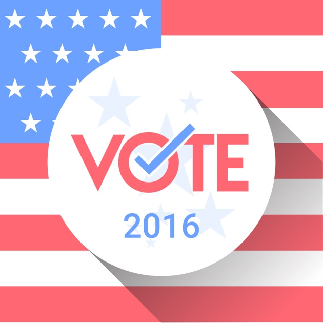 election day usa 2016 on the app store. Black Bedroom Furniture Sets. Home Design Ideas