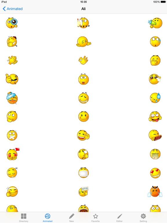 AA Emoji Keyboard - Animated Smiley Me Adult Icons-ipad-0