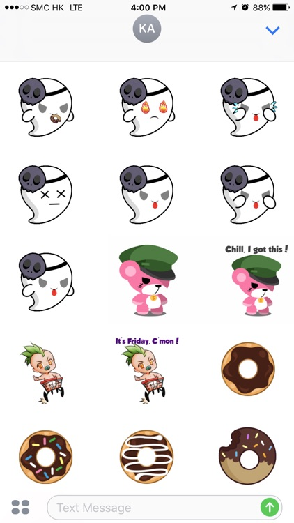 Chibi Sticker - Animated Stickers + Bakery Pack