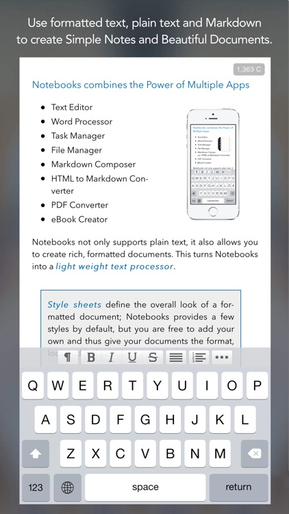 Notebooks - All Your Documents, Files and Tasks screenshot-2